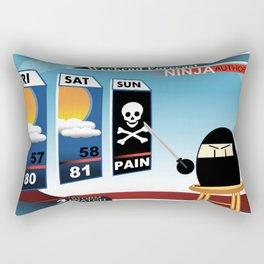 Tonight's Forecast... PAIN! Rectangular Pillow