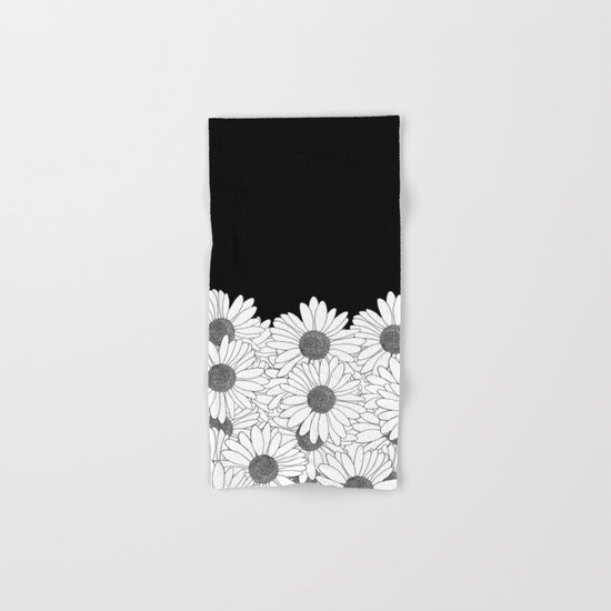 Daisy Boarder Hand & Bath Towel