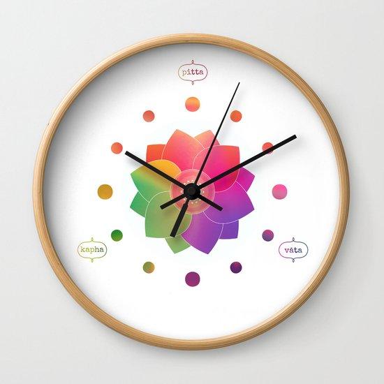 New Harmony - Ayurveda Clock Alternate Version by richbyte