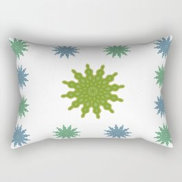 Feeling flaky Rectangular Pillow