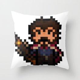 Graves, The Pixel Gunslinger Throw Pillow