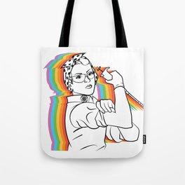 Rosie (rainbow) Tote Bag