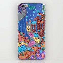Underwater Parade iPhone Skin