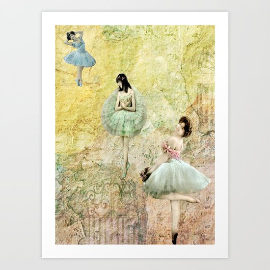 Petit Pas (Little Steps) Art Print