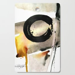 Enso Abstraction No. 105 by Kathy morton Stanion Cutting Board