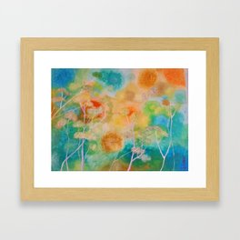 Mess in My Mind Framed Art Print