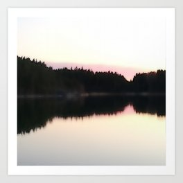 Magical Evening Moment in the Archipelago Art Print