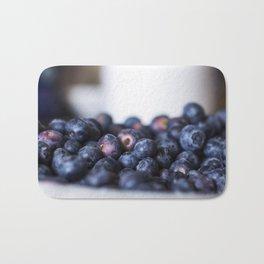 Blueberry love Bath Mat