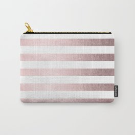 Simply Striped Rose Gold Palace Carry-All Pouch