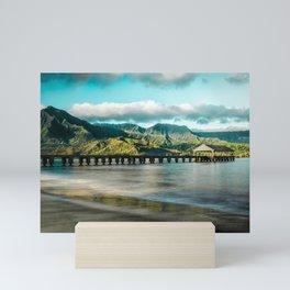 Sunrise at Hanalei Mini Art Print