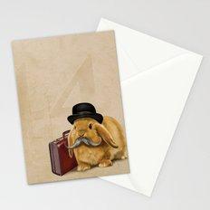 Commuter Bunny Stationery Cards