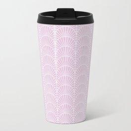 Art Deco Lavender Fields by Friztin Travel Mug