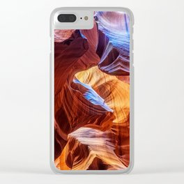 Abstract at Antelope Clear iPhone Case