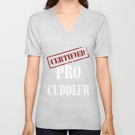 Certified Pro Cuddler Unisex V-Neck