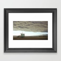 Cloudy Venice Framed Art Print