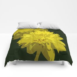 Mellow Yellow Comforters