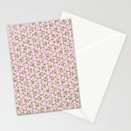 #330 Rose ornaments Stationery Cards