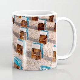 Social distance at the beach Coffee Mug