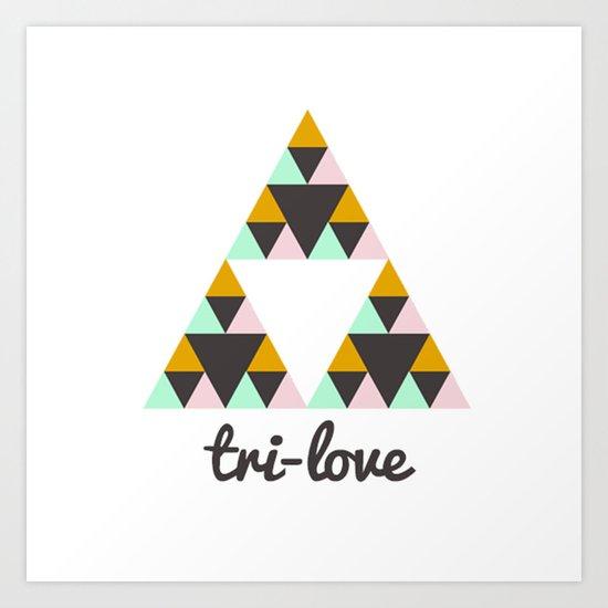 ▲ LOVE   Art Print
