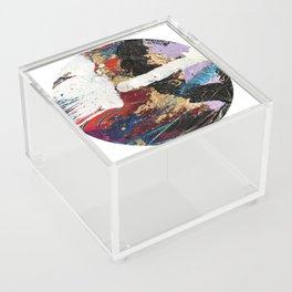 Hidden Treasure Abstract Acrylic Box