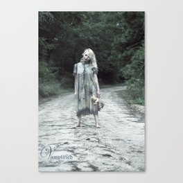 "VAMPLIFIED ""Welcome to Bowden Road"" Canvas Print"
