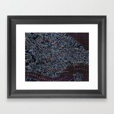 Negatively Venice Framed Art Print