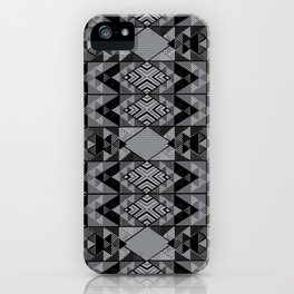 Kupe Black Geometric iPhone Case