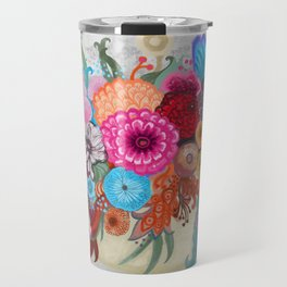 September bouquet Travel Mug