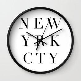 New yrk cty Wall Clock