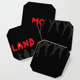 mo mo land dance Coaster