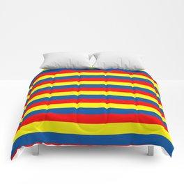 andorra Ecuador romania moldova chad colombia orkney flag stripes Comforters