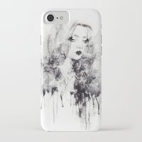 grunge iPhone & iPod Cases featuring Grunge by Sara Eshak