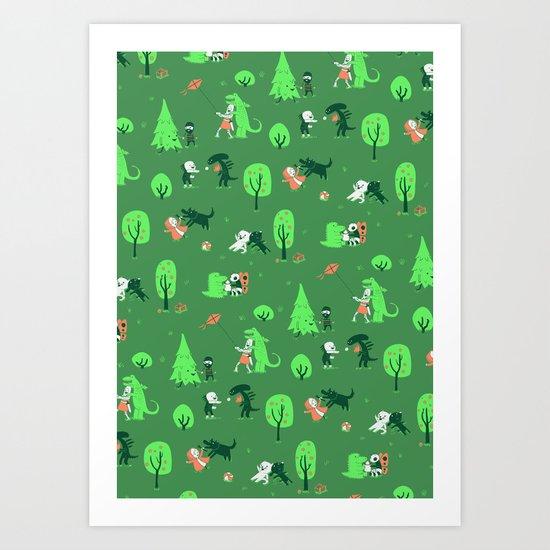 Field of Love Art Print