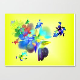 colour is love Canvas Print