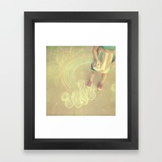 sunshine-y Framed Art Print