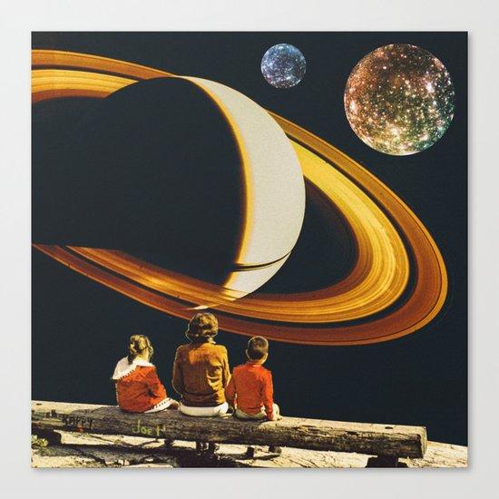 Planetary Canvas Print