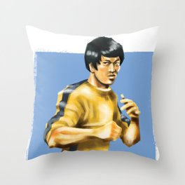 Like Water Throw Pillow