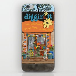 Diggin' it Mckinney, TX iPhone Skin