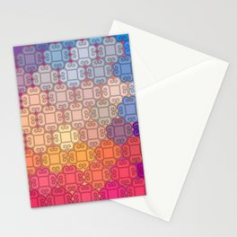 Indian pattern Stationery Cards
