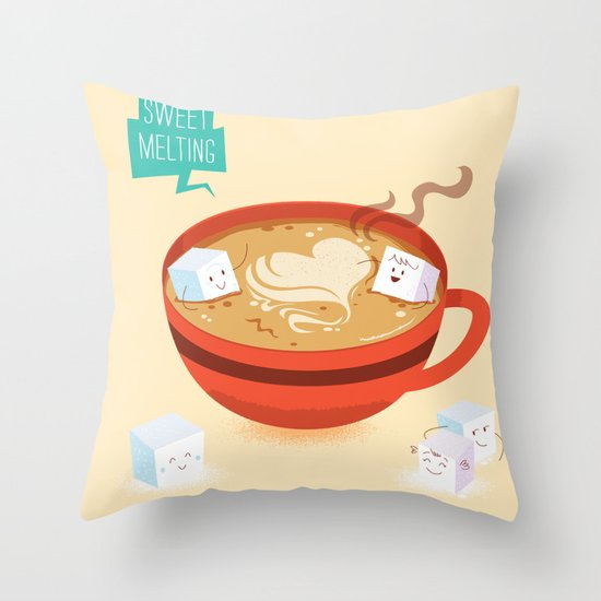 :::Sweet Melting::: Throw Pillow