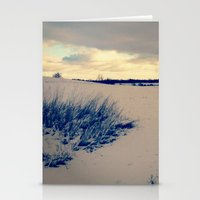 wisconsin Stationery Cards featuring Wisconsin Winter by Josrick