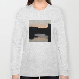 Sunset over Leith Edinburgh Long Sleeve T-shirt
