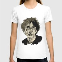 neil gaiman T-shirts featuring Neil Gaiman by Andy Christofi