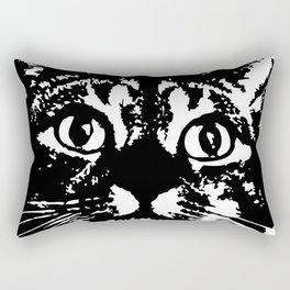 Cat Icon Rectangular Pillow