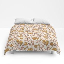 KALAMI FLORAL MUSTARD Comforters