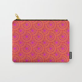 Tropical Parasols Pattern Carry-All Pouch