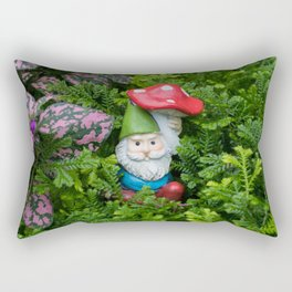 Hidden Gnome Rectangular Pillow