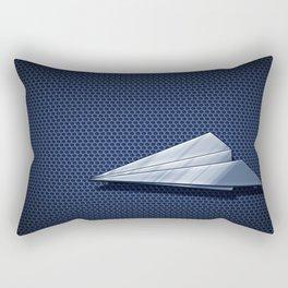 Paper Airplane 113 Rectangular Pillow