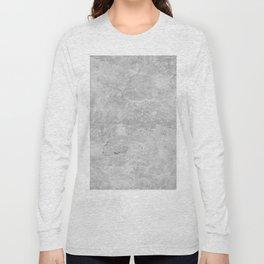 Gray Concrete Long Sleeve T-shirt