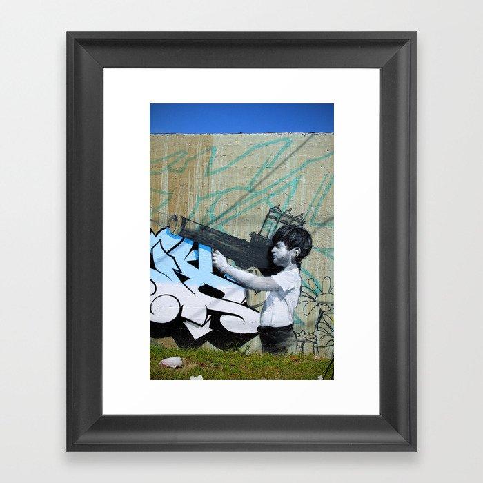 Bazooka Framed Art Print